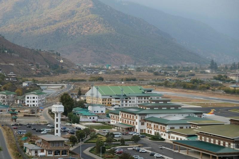 Aeroporto internacional de Paro no Butão