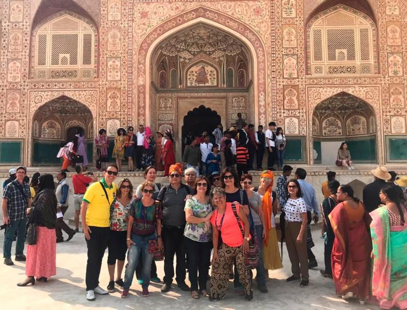 O que fazer em Jaipur - Palácio do Amber Fort