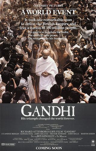 gandhi um filme indiano