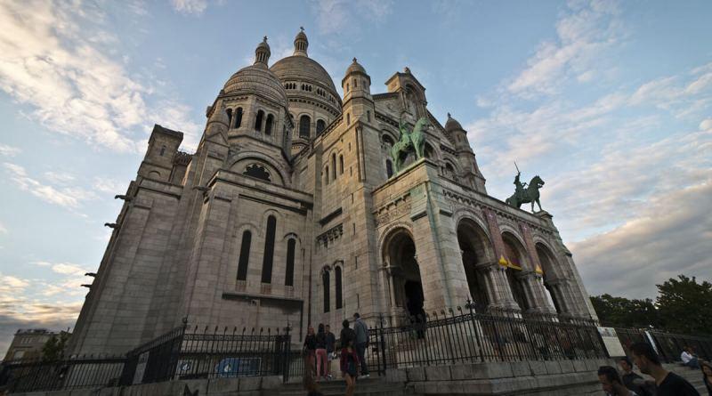 sacre coeur - pontos turísticos de Paris