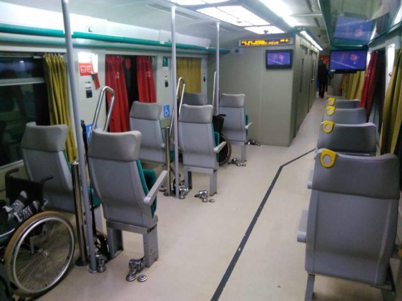 Trem de Passageiros da Estrada de Ferro Carajás (EFC)