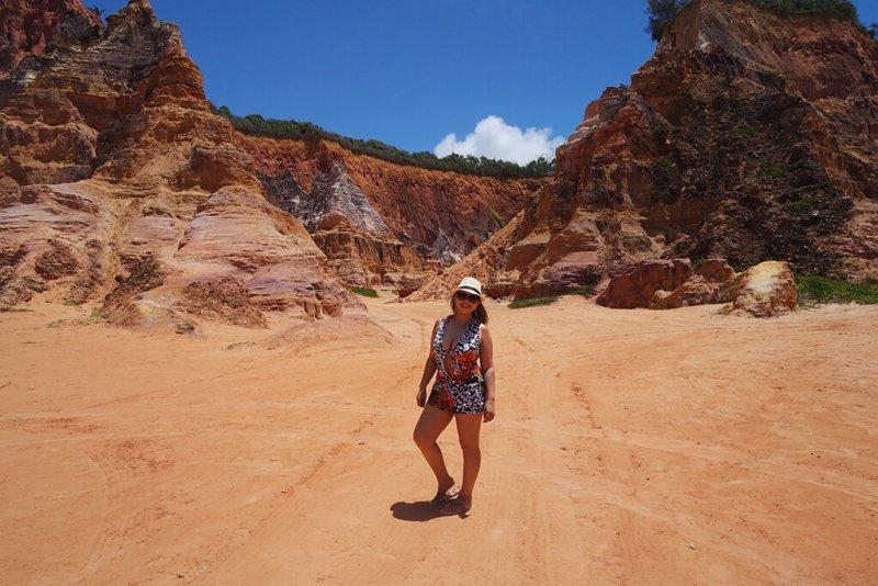 Falésias do Gunga em Alagoas é um dos lugares surpreendentes para conhecer no Brasil: 10 destinos!