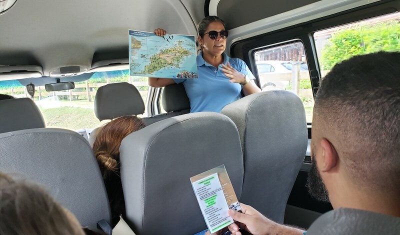 passeio ilha tour em Fernando de Noronha