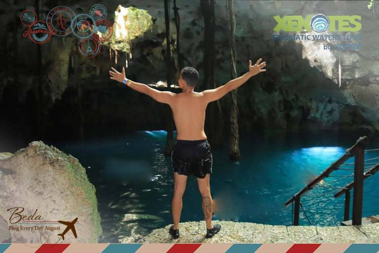 Xenotes em Cancun, os cenotes do grupo xcaret
