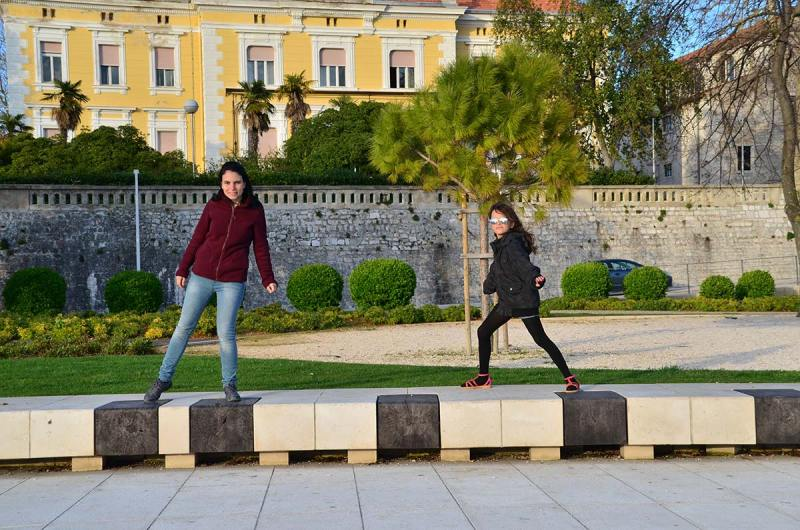 Órgão do Mar em Zadar na Croácia