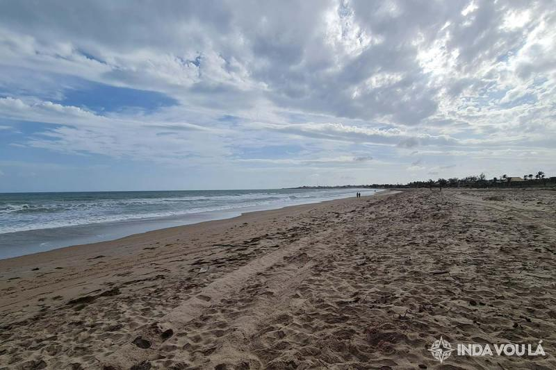 Praia em Luis Correa/Piauí