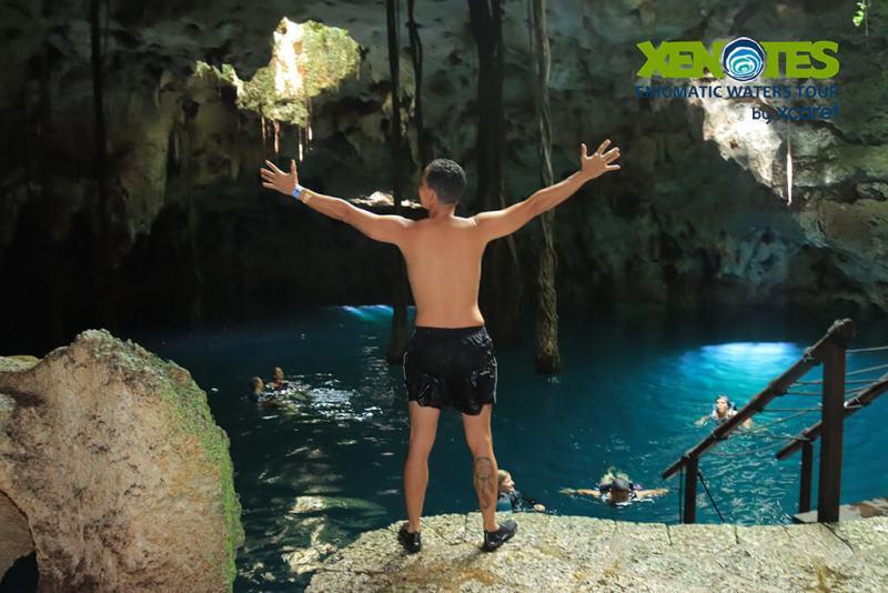 Xenotes, o passeio no cenote tipo caverna
