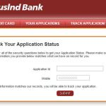 How to Check Indusind Bank Credit Card Application Status