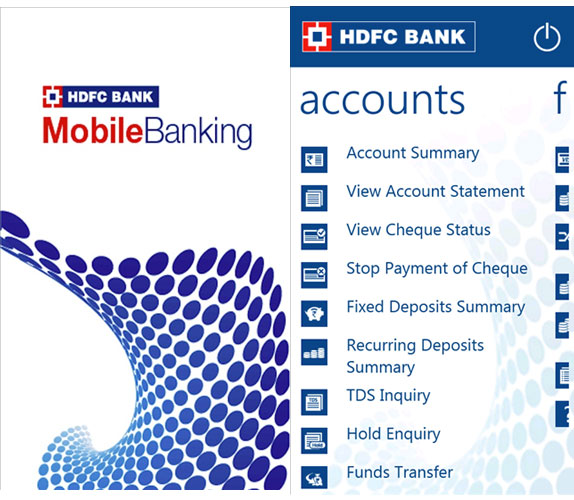 Activate HDFC Mobile Banking