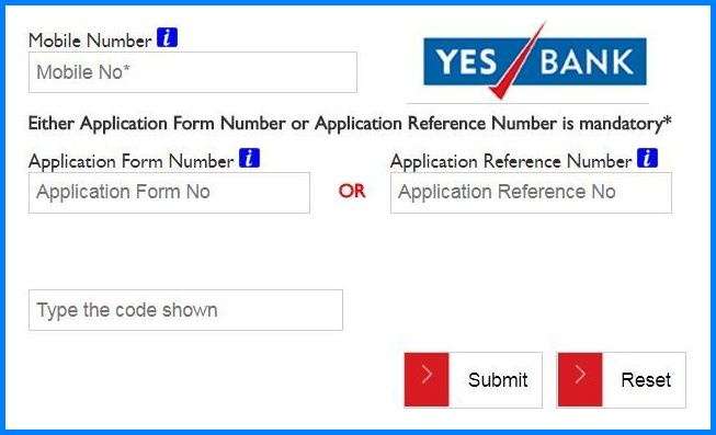 yes bank credit card payment