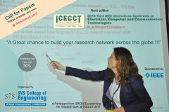 ICECCT 2019 3rd IEEE International Conference on Electrical