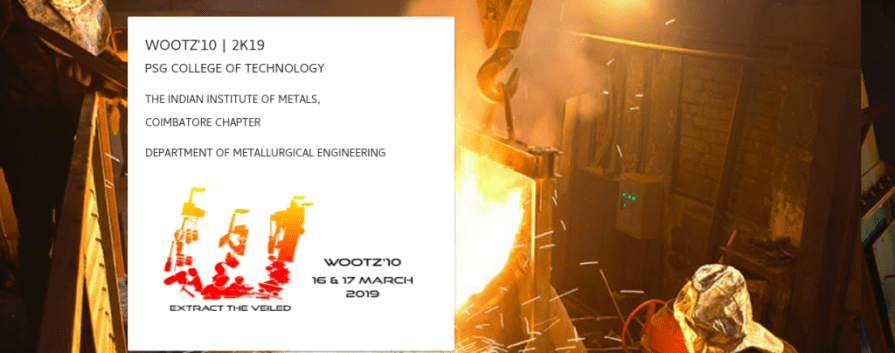 Wootz'10 2019 - PSG College of Technology - IndCareer