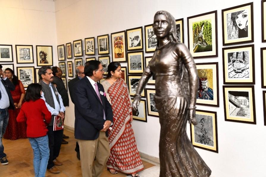 19th Annual Art Exhibition Abhivyakti..Ek Prayaas