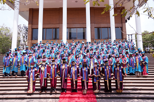 Alliance University Leadership and Faculty at Convocation 2021