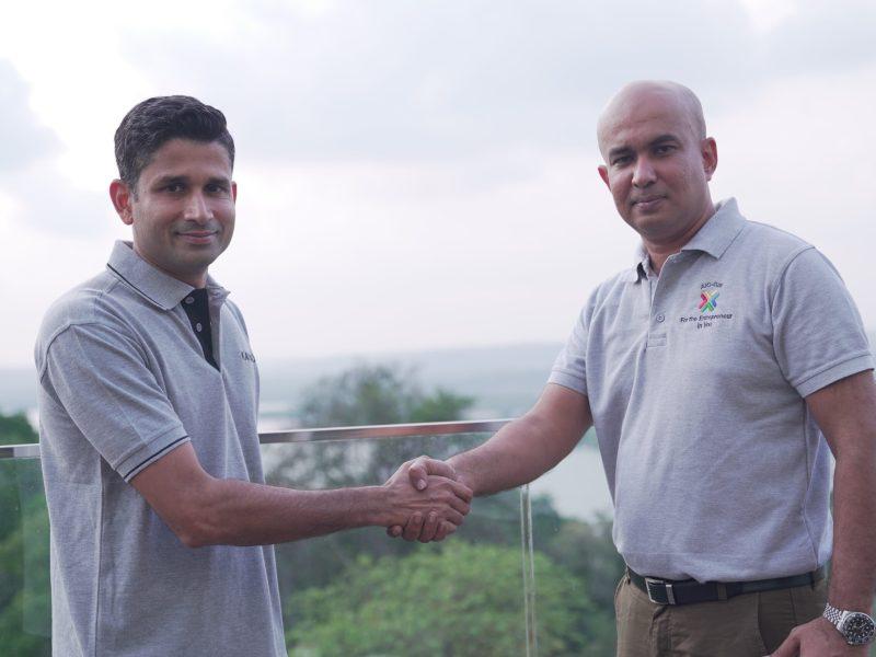 Parixit Pai Fondekar, Founder, KCCA along with Rajesh Joshi, CEO, AICGIM