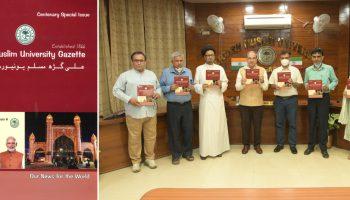 CENTENARY ISSUE OF AMU GAZETTE RELEASED