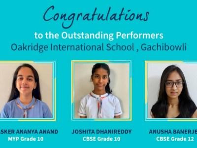 Oakridge International School Gachibowli Achieve Phenomenal Results