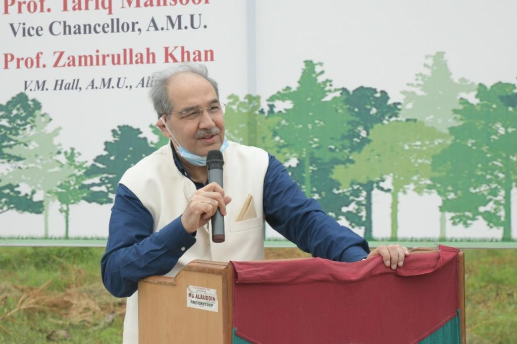 AMU 'Swachhta Pakhwada', Azadi Ka Amrit Mahotsav