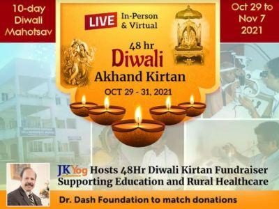 JKYog to Host 48 Hours Diwali