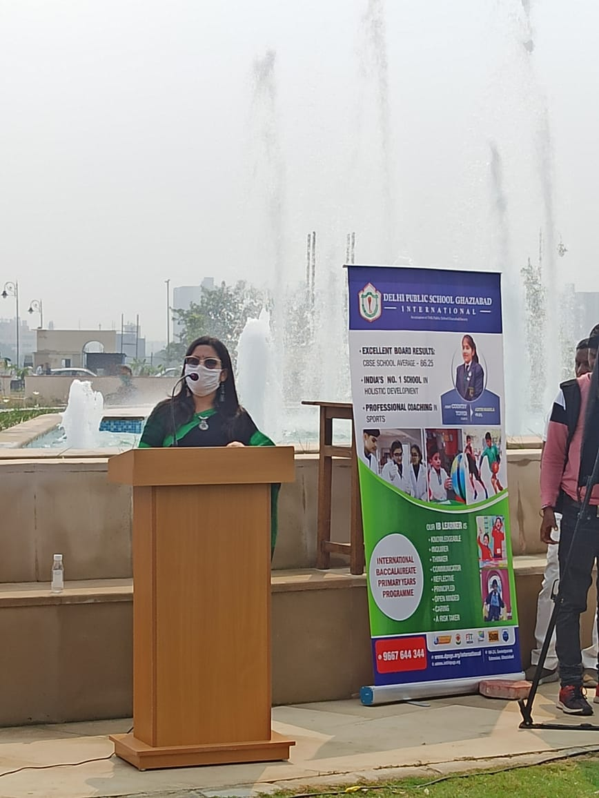 Soma Singh, Headmistress, DPS Ghaziabad
