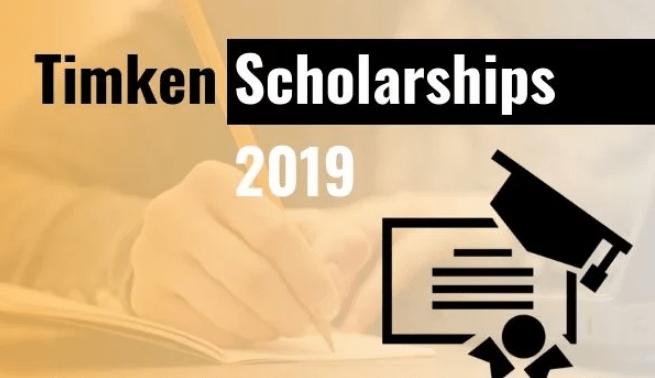 Timken Scholarships Scheme for Engineering, Diploma, ITI and B.Sc Nursing Courses 2019