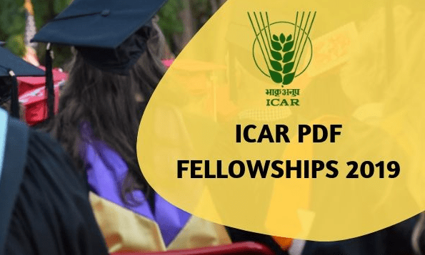 ICAR Post-Doctoral Fellowship (PDF) Scheme 2019 – Application, Dates