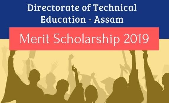 DTE Assam Merit Scholarship 2019, Application, Dates