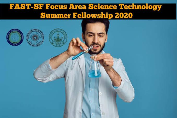 Focus Area Science Technology Summer Fellowship 2020