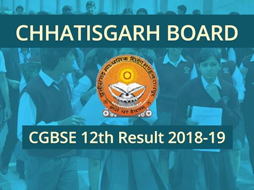 CG BSE 12th Results