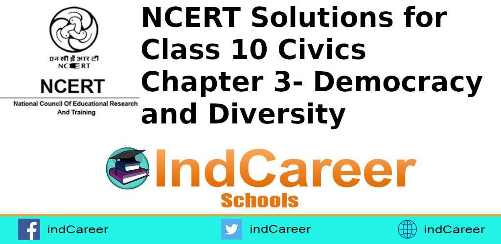 Chapter 3- Democracy and Diversity