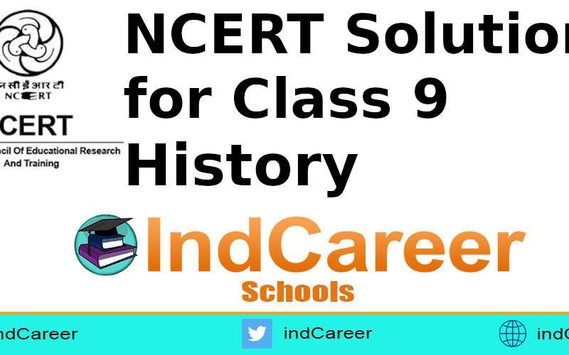 NCERT Solutions for Class 9 History