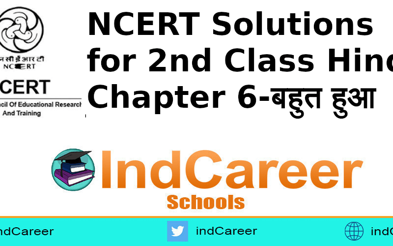 NCERT Solutions for Class 2nd Hindi: Chapter 6-बहुत हुआ