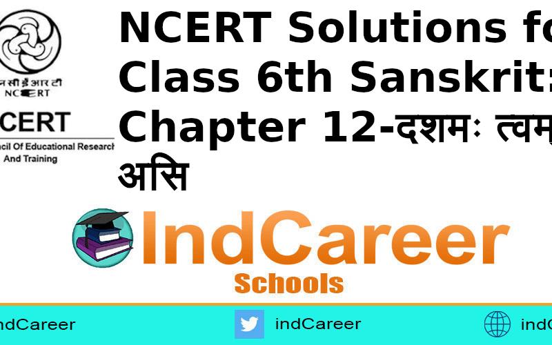 NCERT Solutions for Class 6th Sanskrit: Chapter 12-दशमः त्वम् असि