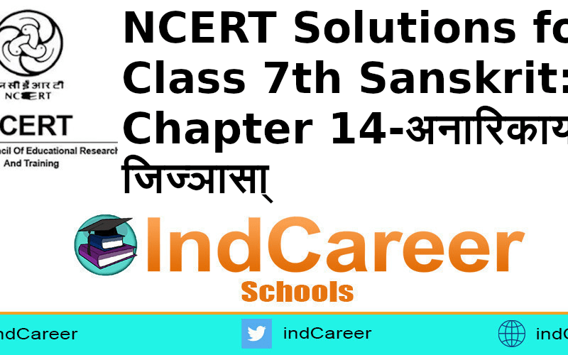 NCERT Solutions for Class 7th Sanskrit: Chapter 14-अनारिकायाः जिज्ञासा्