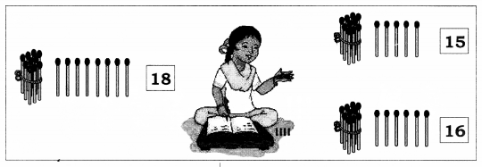 NCERT Solutions for Maths: Chapter 8-Numbers from Twenty-One to Fifty Question 1.