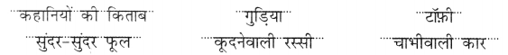 NCERT Solutions for Hindi: Chapter 7-मेरी किताब प्रश्न 5