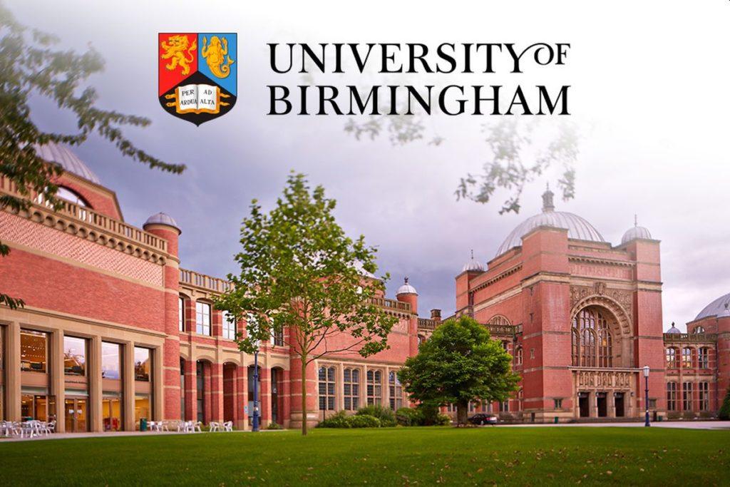 PG Scholarship 2020@ University of Birmingham, UK