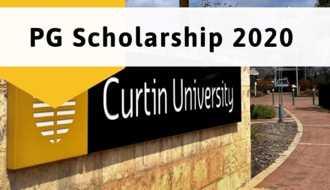 Curtin University Australia PG Scholarship Program 2020