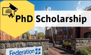 Federation University Henry Sutton PhD Scholarship 2019 for International Students in Australia