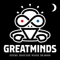 Great Minds (Sticks,Winne, Jiggy Djé en Dr. Moon)