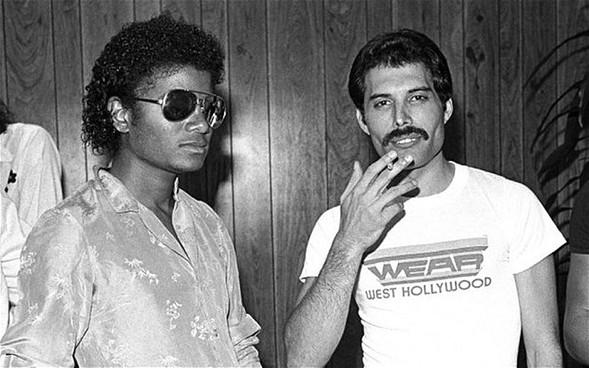 Duetten Michael Jackson en Freddie Mercury