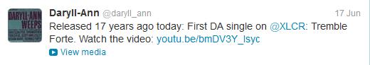 Daryll-Ann tweet