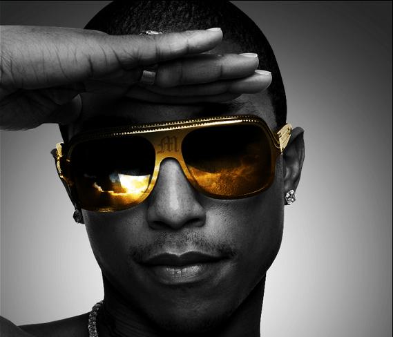 Alles wat Pharrell Williams in 2013 aanraakt lijkt in goud te veranderen