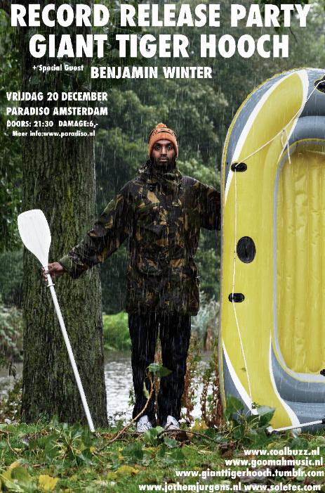 Giant Tiger Hooch albumpresentatie