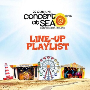 Concert At Sea Spotify Playlist 2014