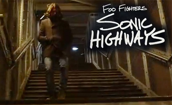 Foo Fighters documentaire Sonic Highways