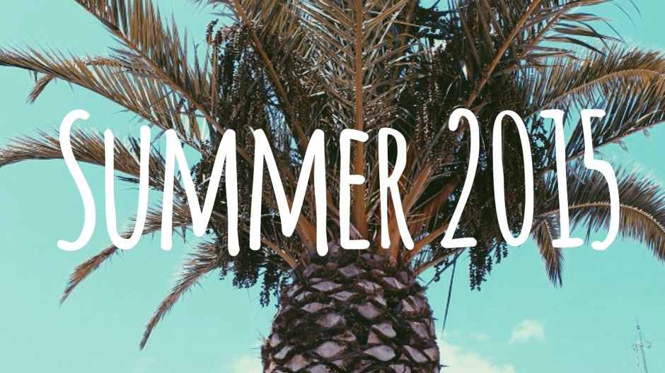 Summer / Zomer 2015 Spotify Playlist