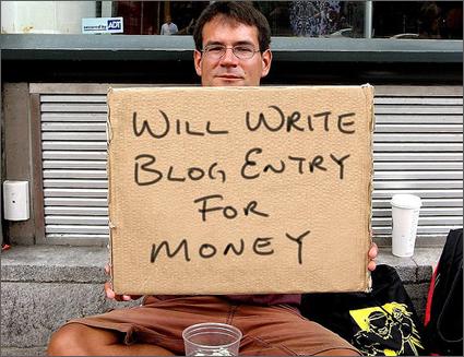 artikel Trouw over betaald bloggen