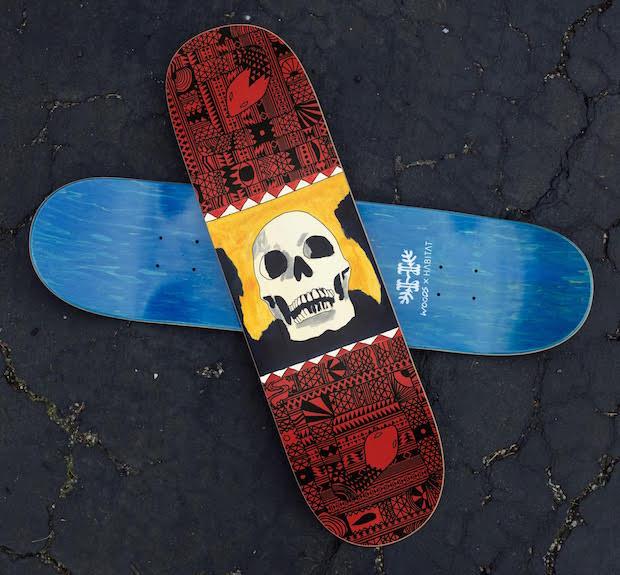 Amerikaanse band Woods brengt album uit als skateboard