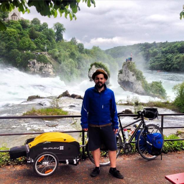 Rob Moir Bike The Rhine Concert Tour